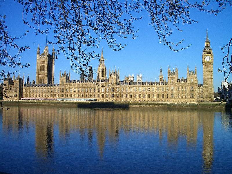 Palace of Westminster UK